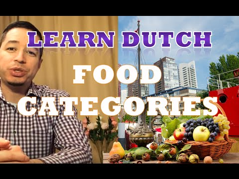 Learn dutch basic beginners, #5 food categories