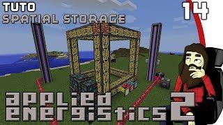 [TUTO] Applied Energistics 2 #14 - Spatial Storage [FR] 1.12.2
