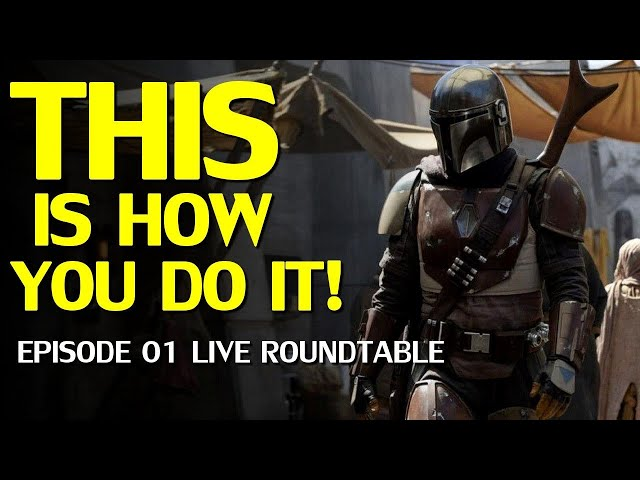 Star Wars The Mandalorian Episode 1 Review & Discussion-with Mr. H Reviews