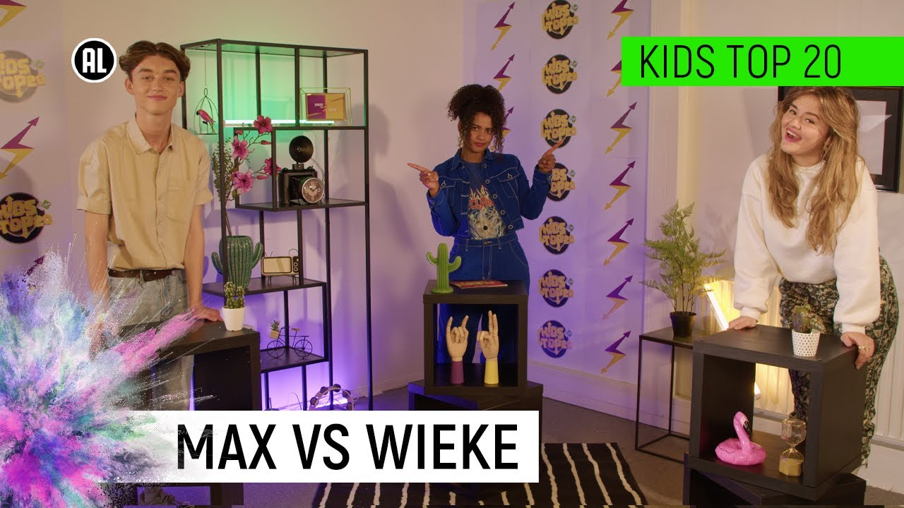 HET GAAT HARD TEGEN HARD TUSSEN MAX EN WIEKE!   De Jongens Tegen De Meiden   Kids Top 20   NPO Zapp