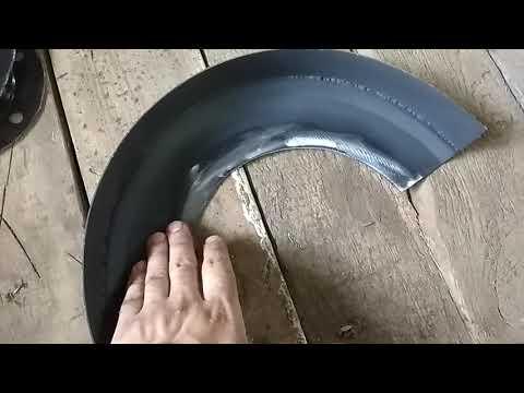 Защита тормозных дисков своими руками на Паджеро