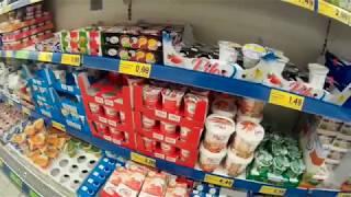 Супермаркет Lidl в Разлоге - путь от Банско. Товары и цены