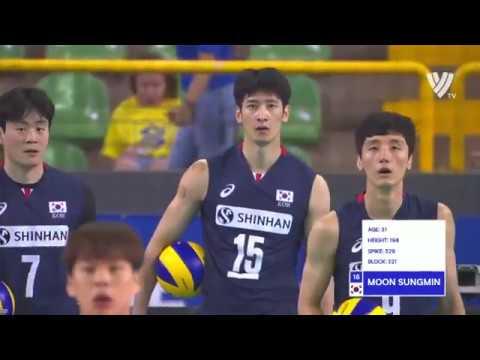 Men's VNL 2018: South Korea v Japan