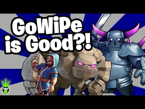 GOWIPE GETS GOOD LOOT! - Fix The Th8! - Clash Of Clans