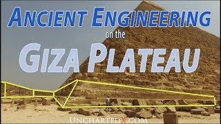 Ancient Engineering on the Giza Plateau, Evidence of massive bedrock engineering (REDUX with subs)