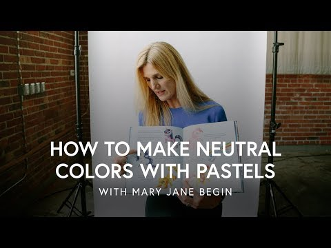 How To Make Neutral Colors With Pastels | CreativeLive