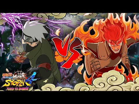 Boruto Kakashi Purple Lightning Release Vs Might Guy -  Naruto Ultimate Ninja Storm 4 Road To Boruto