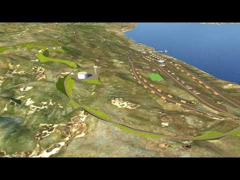 Newtok Airport Relocation – Mertarvik 3D Flythrough