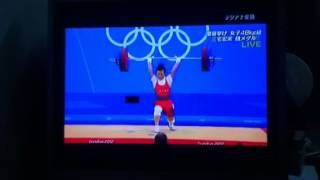48kg級女子舉重 王明娟無懸念奪冠