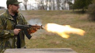 Repeat youtube video In Memory Of Kalashnikov: 700 Round AK Burn