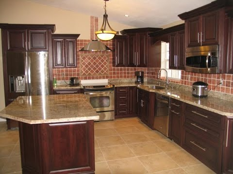 Update Oak Kitchen Cabinets - YouTube
