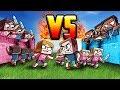 Minecraft | BOY BASE VS GIRL BASE CHALLENGE - Girl Army Base Defense! (Girl vs Boy)
