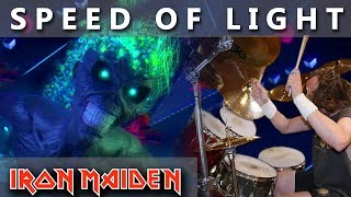 IRON MAIDEN - Speed Of Light  (Live Chapter) - DRUM COVER #21