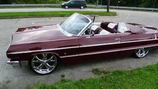 1964 Chevy Impala Convertible on Asanti AF143 HD