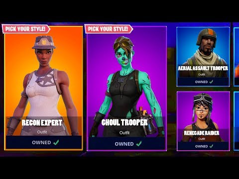 Watch All Og Rare Skins Coming Back Returning Fortnite How