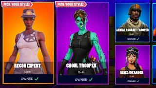 ALL OG RARE Skins COMING BACK (RETURNING) Fortnite How To Get Ghoul Trooper & RECON EXPERT - RETURN