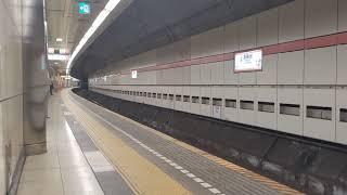 都営地下鉄5500形5509編成 試運転 高輪台駅通過