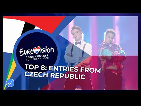 TOP 8: Entries From The Czech Republic 🇨🇿 - Eurovision Song Contest