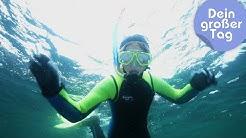 Tauchen und Forschen auf See - Kira als Meeresbiologin | Dein großer Tag | SWR Kindernetz