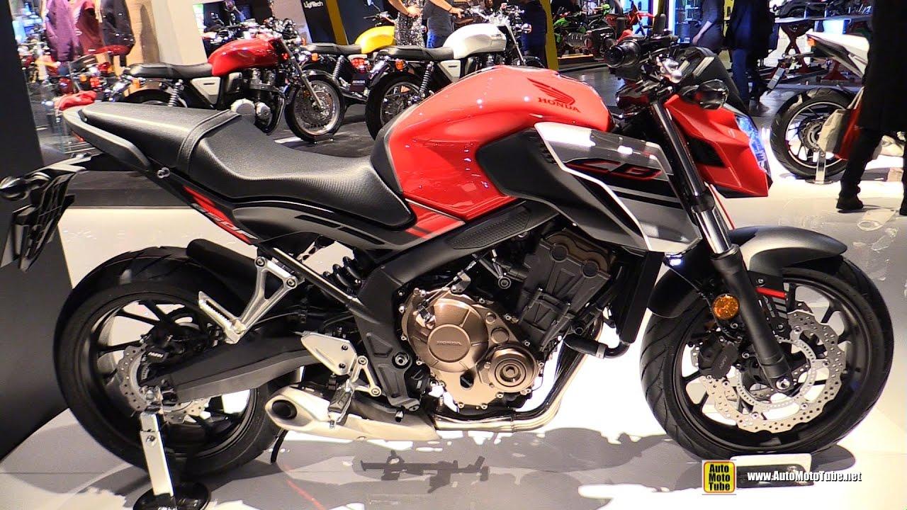 2017 Honda CB650F - Walkaround - 2016 EICMA Milan - YouTube
