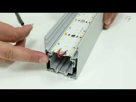 Как правильно собирать накладной алюминиевый анодированный профиль серии S2-LUX Arlight.