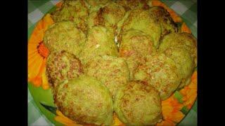 Кабачково- картофельные оладьи