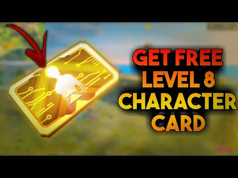 GET FREE LEVEL 8 CHARACTER CARD - FREE FIRE - BULLET BOI - 동영상