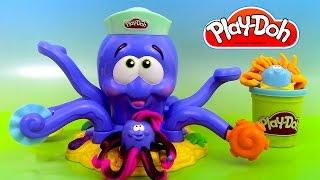Pâte à modeler La Pieuvre Poulpe ♥ Play Doh Octopus