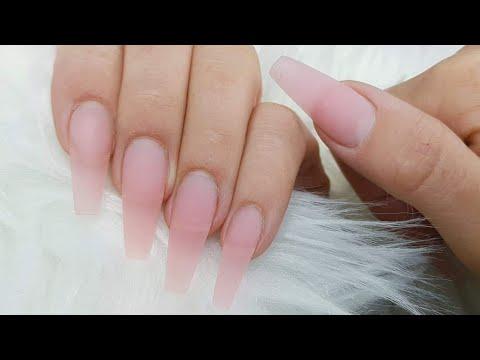 Gel Rebalance Infill With Not Dominant Hand. Fiber Gel Application, Nail Prep. Fiber Sculpting Gel