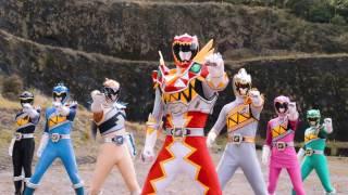 Power Ranger Super Dino Charge [Un dia muy loco] Batalla - Capitulo 16