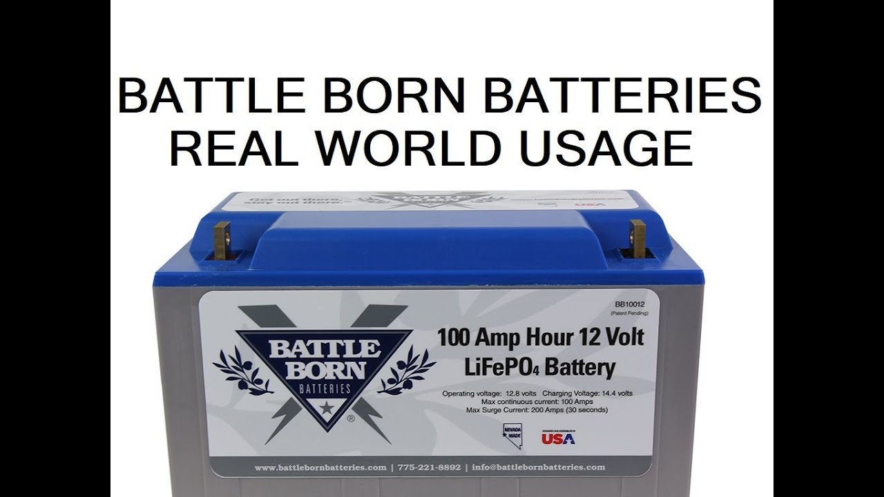 How long battle born lithium batteries last in an rv the - How long does a generator last ...