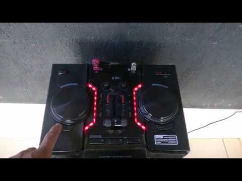 lg om5560 xboom 500w brincando um pouco com efeitos de dj