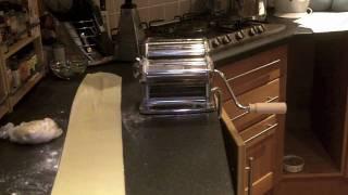 Using the Imperia Pasta Machine