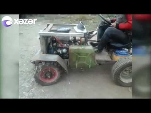 800 manat xərc çəkdi, traktor hazırladı - 100 km/saat sürət yığa bilir