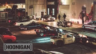 [HOONIGAN] DT 189: 18 Car Burnout Spectacular - HAPPY NEW YEAR!
