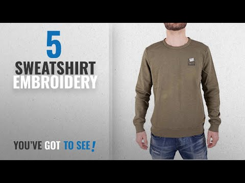 Top 10 Sweatshirt Embroidery [2018]: Scotch & Soda Men's Ams Blauw Garment Dyed Sweat With Chest