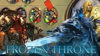 Hearthstone: Warrior ( grim patron) vs The Lich King - The Frozen Throne