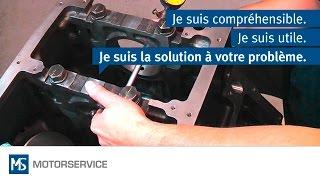 Montage des coussinets - Motorservice Group
