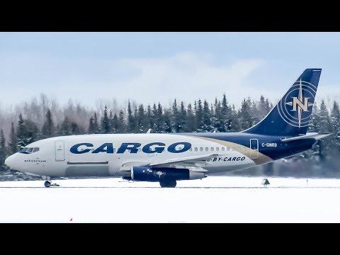 Nolinor Cargo Boeing 737-200(C) (B732) departing Montreal-Mirabel (YMX/CYMX)