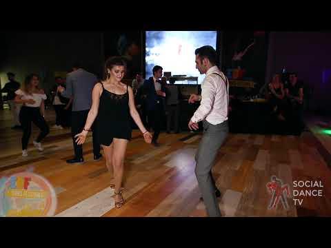 Şenol Vefa Gülmez & Sevim Belen - Salsa Social Dancing | EDF 2018