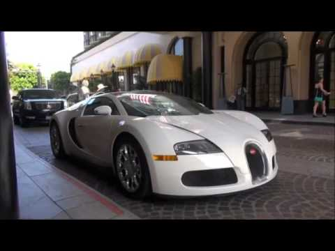 Beverly Hills sweeter Bugatti Veyron Grand