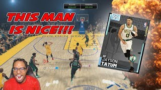 ALL-STAR SKILLS CHALLENGE DIAMOND JAYSON TATUM IS A DAWG!! BETTER THAN PD KD!! | NBA 2K19 MYTEAM
