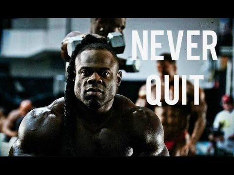 Bodybuilding motivation – NEVER QUIT
