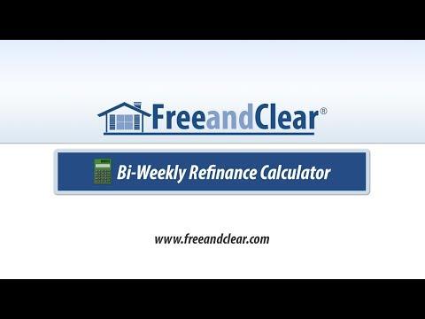 Bi-Weekly Mortgage Refinance Calculator Video