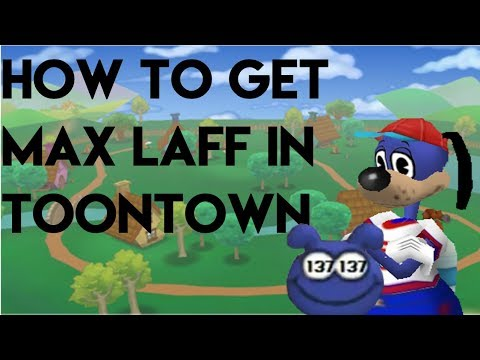 How To Get Max Laff Points In Toontown (137)
