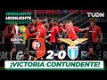 Highlights   Stade Rennais 2 - 0 Lazio   Europa League - J 6 - Grupo E   TUDN