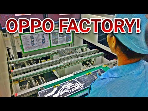 TOP SECRET OPPO SHENZHEN FACTORY TOUR! (Kokak Vlogs)