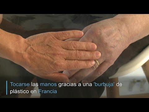 afpes: Una 'burbuja' para visitar al abuelo | AFP