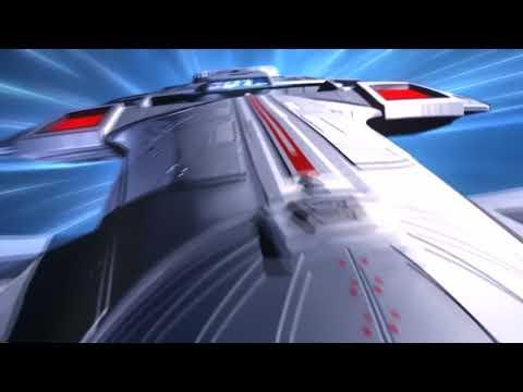 USS Enterprise E Goes To Warp  EPIC!!!!!!