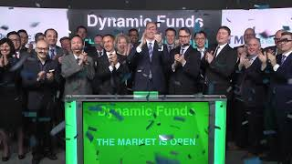 Dynamic Funds opens Toronto Stock Exchange, February 24, 2020